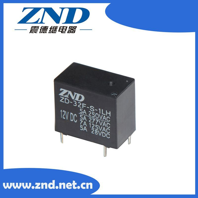 32f Power Relay Miniature Size Electromagnetic Relay 5A 4pins 0.45W