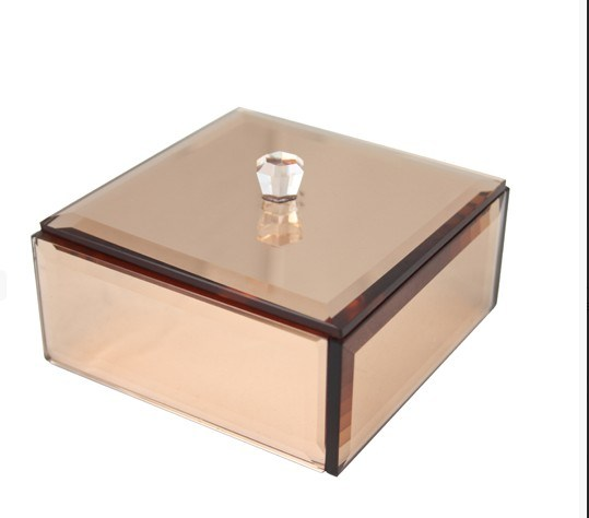 Customize Mirror Acrylic Jewelry Packing Box Gift Box