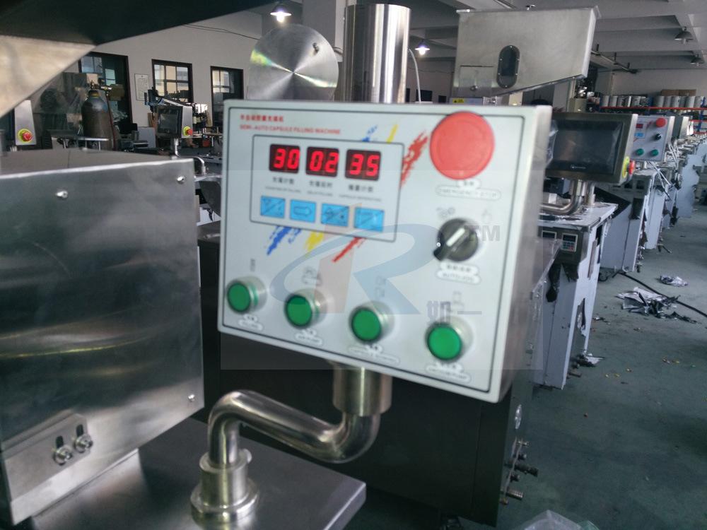 CGN-208 Laboratory Hard Gelatin Semi Automatic Capsule Filling Machine