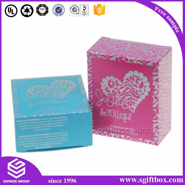 High-End Custom Packaging Paper Gift Cosmetic Perfume Box