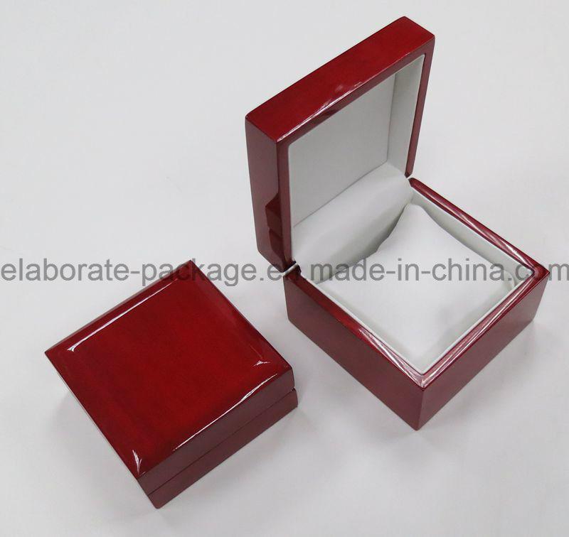 Luxury Mahogany Single Wooden Watch Pack Box