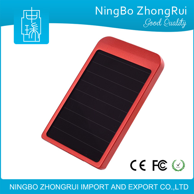 2600 mAh Solar Battery Panel Charger Portable Solar Power Bank for Cell Mobile Phone 2600mAh