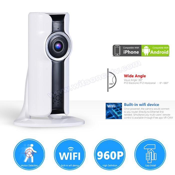 720p CCTV HD Panornamic 3D Vr Home Security Wireless WiFi Smart IP Network Camera