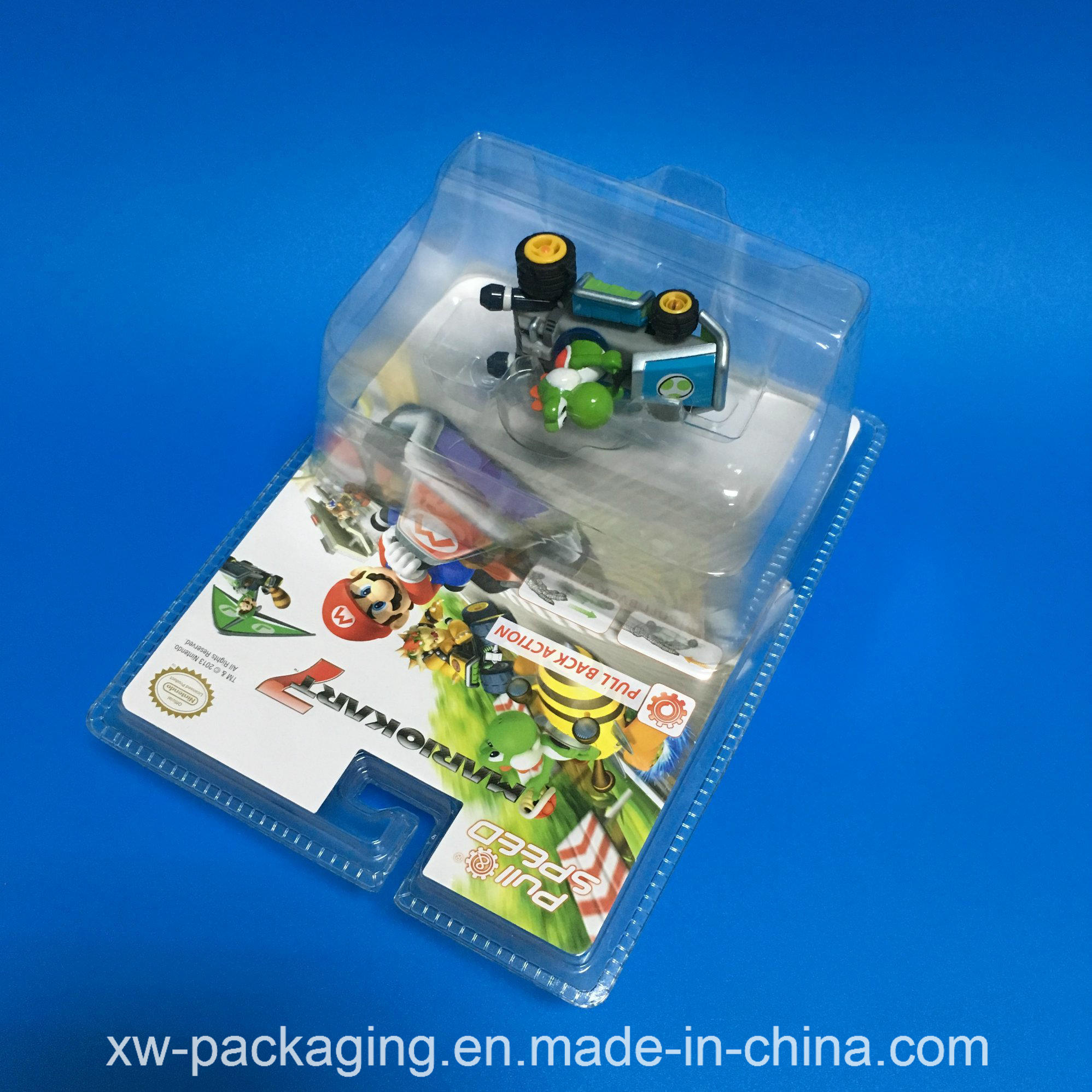 China Clear Plastic Packaging for Toys Product