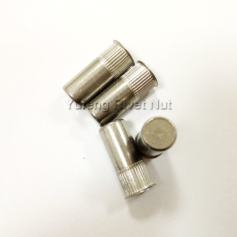 Stainless Steel Small Head Knurled Body Closed End Rivet Nut