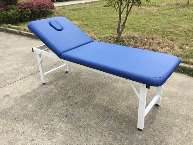 Steel Tube Stationary Massage Table Beauty Bed