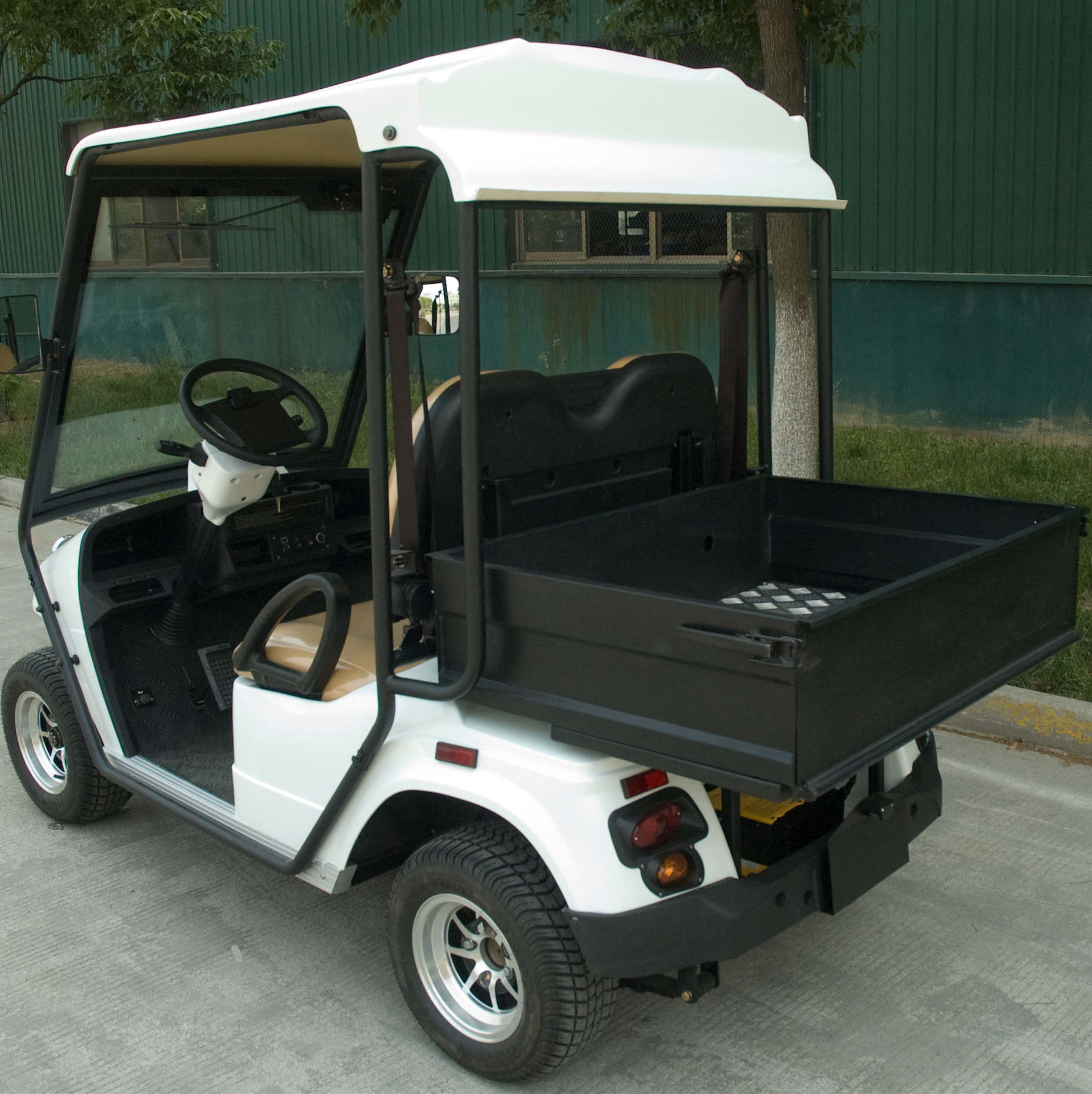 EEC Approved, Street Legal Electric Golf Cart (EG2028HR)