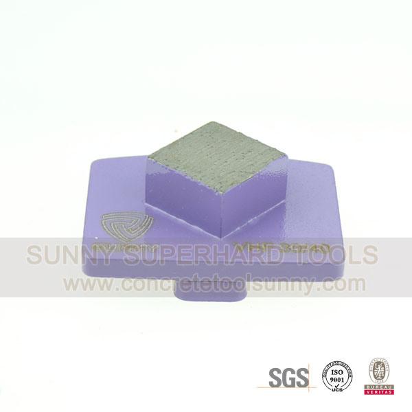 Redi-Lock Diamond Concrete Grinding Disc for Husqvarna Machine