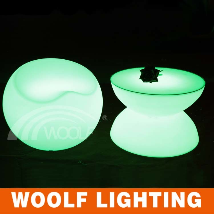 Light up LED Hotel Restaurant Coffee Table Furniture