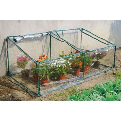 Mini Greenhouse - Cold Frame with PVC Cover