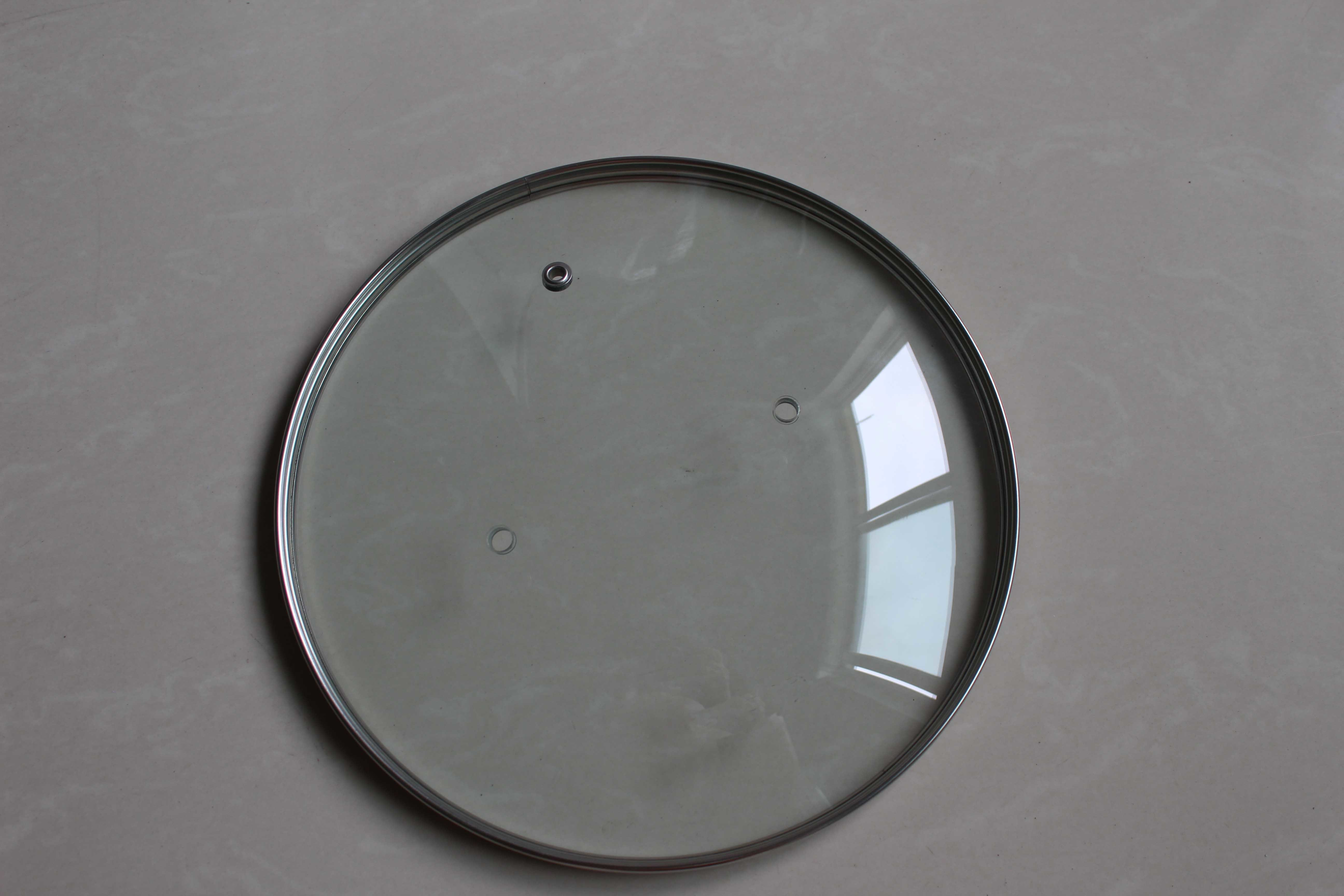 Normal G-Type Round Tempered Glass Lid