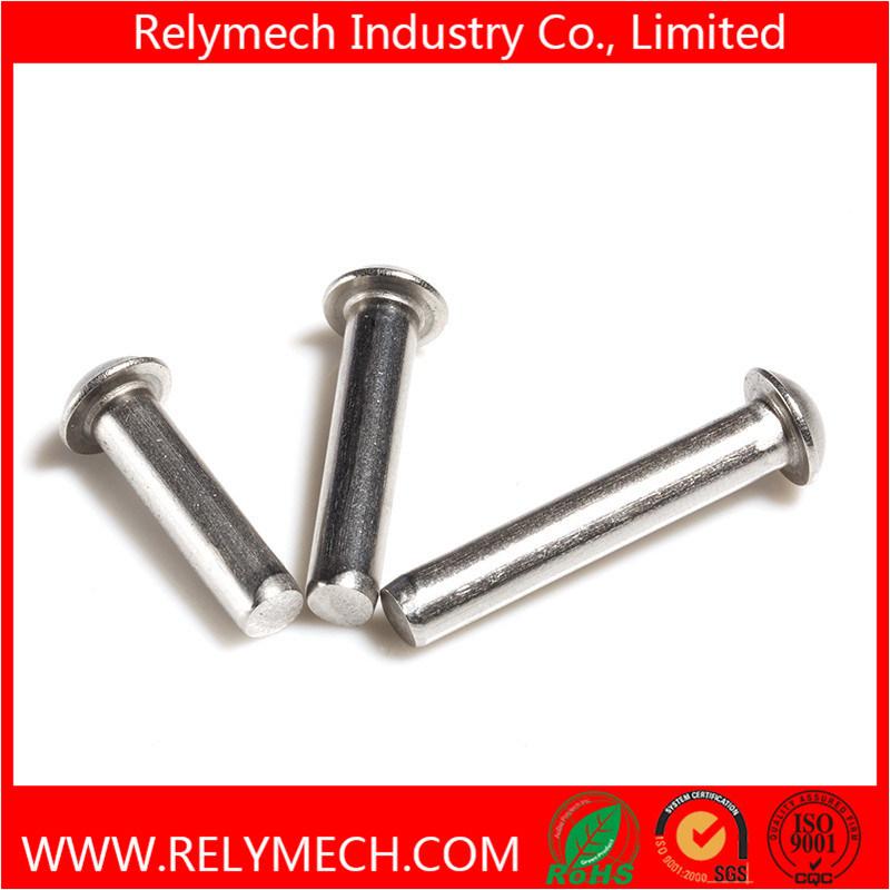 Mushroom Head Round Head Solid Rivet in Stainless Steel