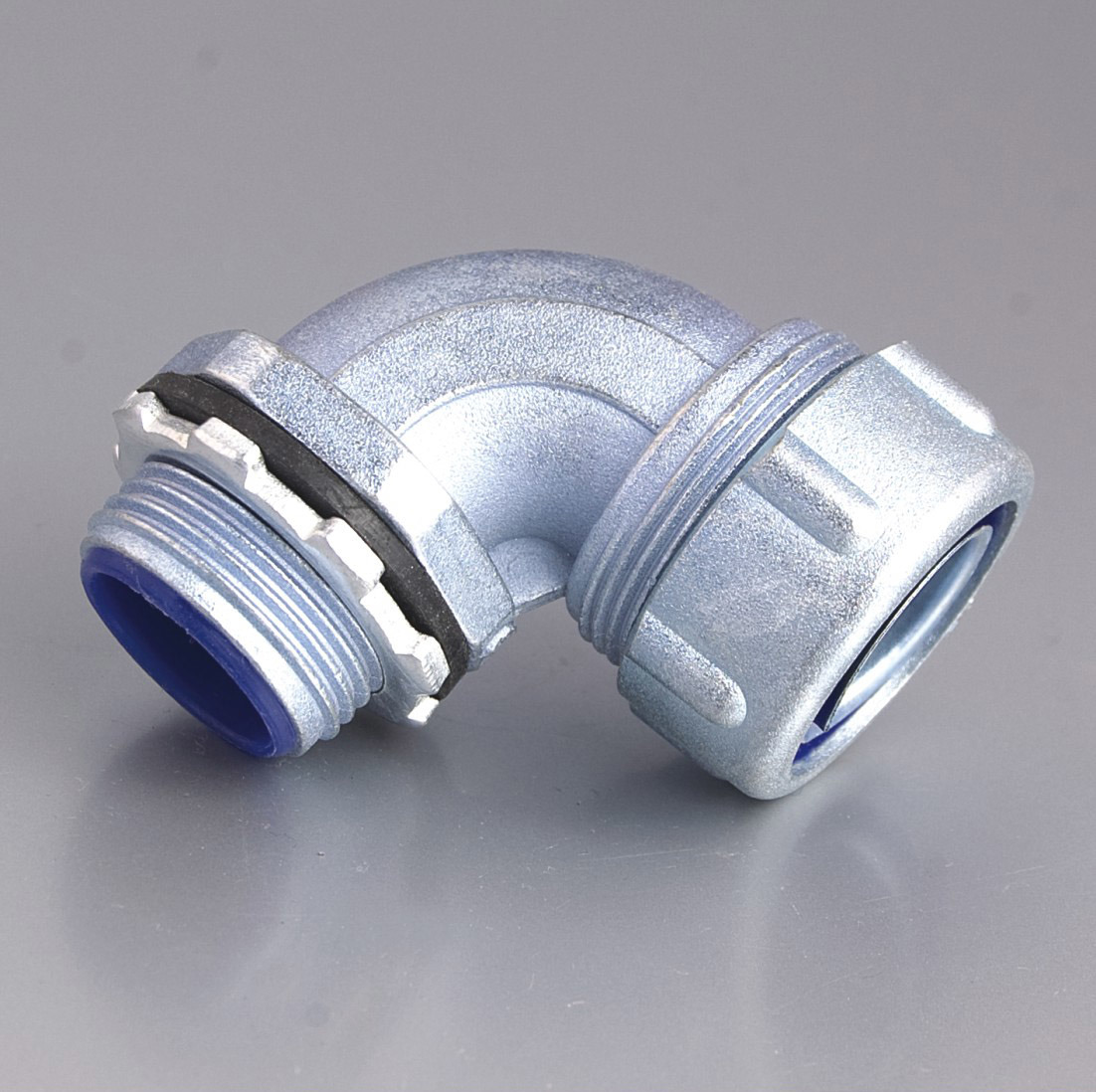Liquid Tight Connector Angle Quincunx Cap