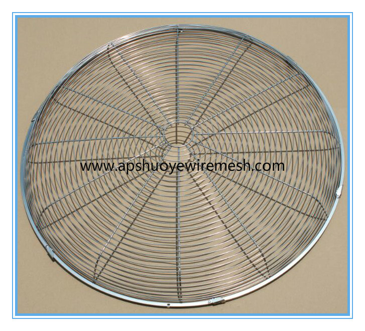 PVC Coated Metal Wire Mesh Fan Guard