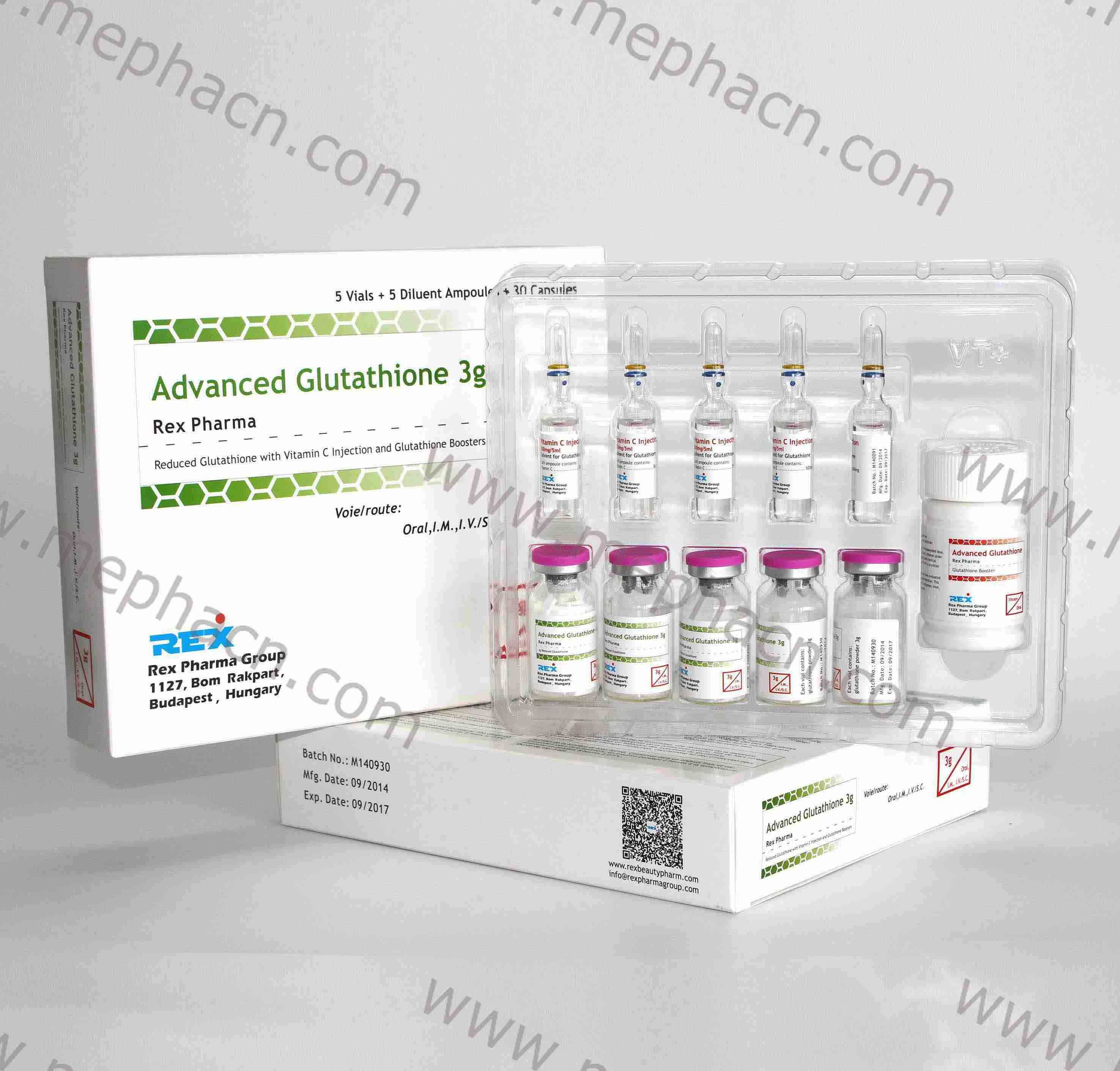 Effective Reduced Glutathione IV Injection 3000mg&Glutathione