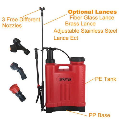 16L Garden Backpack Hand Sprayer