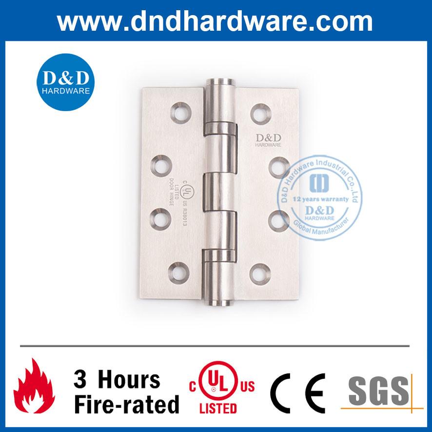 2 Ball Bearing Door Hinge 4X3X3 UL Listed for Fire Door & Metal Door