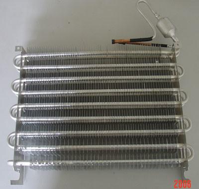 Aluminum Tube Fin Type Evaporator and Condenser