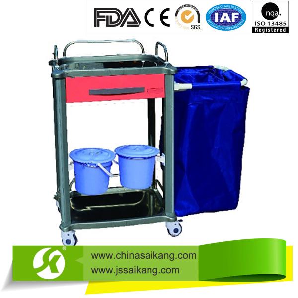 Hospital Furniture Simple Medical Push Cart