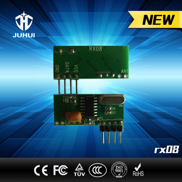 Wireless RF Receiver Module for Motorcar Alarm System