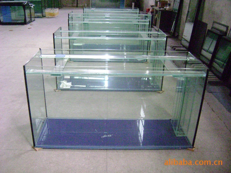 Custom Fish Rectangular Glass Aquariums Acrylic Fish Tanks, Fish Tank Supplies