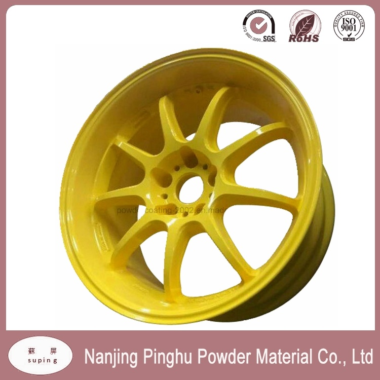 Yellow Powder Paint with Good Mechanical Property for Automobile