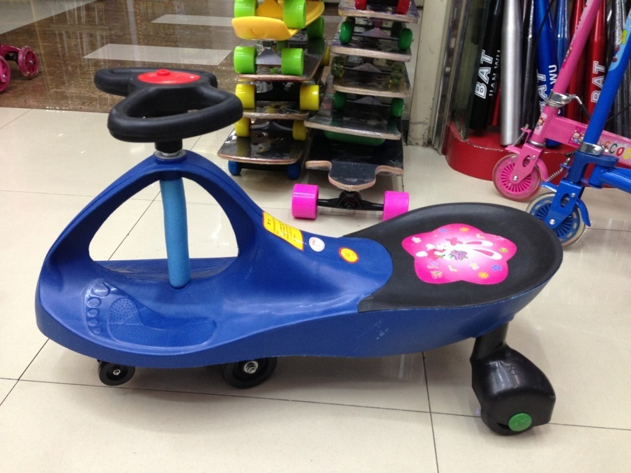 Swing Car/ High Quality Plasma Car with En71 Certificated Et-Sw403