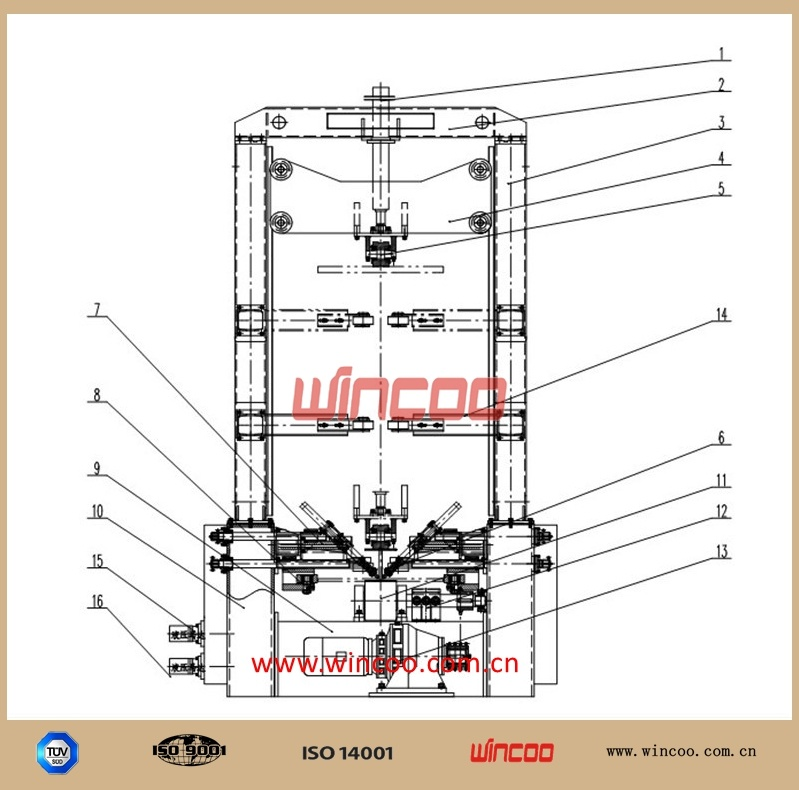 PLC Control H-Beam Assembly Machine/ Steel Fabrication Assemble Station/ Fitting-up Station/H Steel Fabrication Fitting-up Machine/Steel Strucutre Assemble Mach