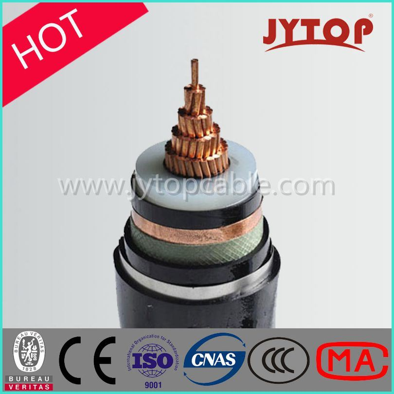 3.6/6kv Medium Voltage Single Core Copper XLPE Insulation Power Cable