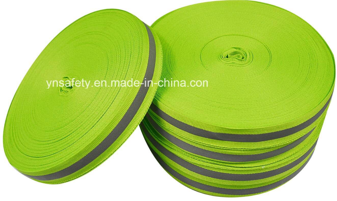 High Visibility Reflective Ribbon/Material/Fabric