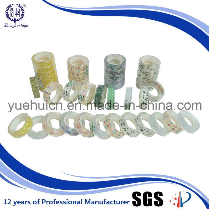 Used for Office and School BOPP Acrylic Stationery Tape
