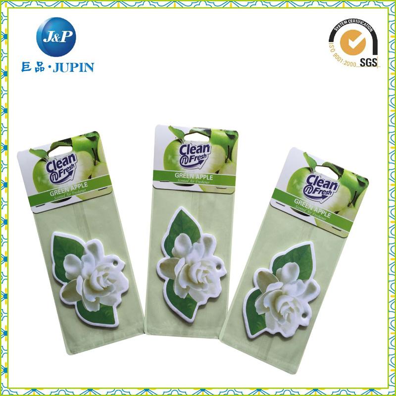Clean Fresh Green Apple Paper Automatic Air Freshener (JP-AR011)