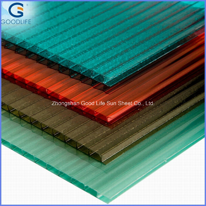 Bronze Color Diamond Polycarbonate Embossed PC Sheet