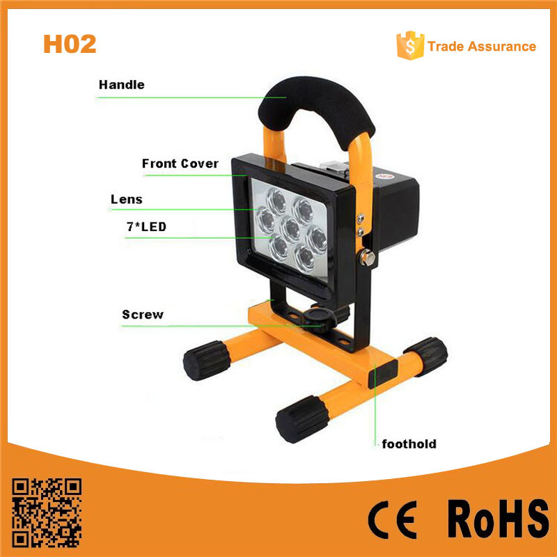 H02 10W LED Work Light Lamp Headlight Spot Light Flood Light