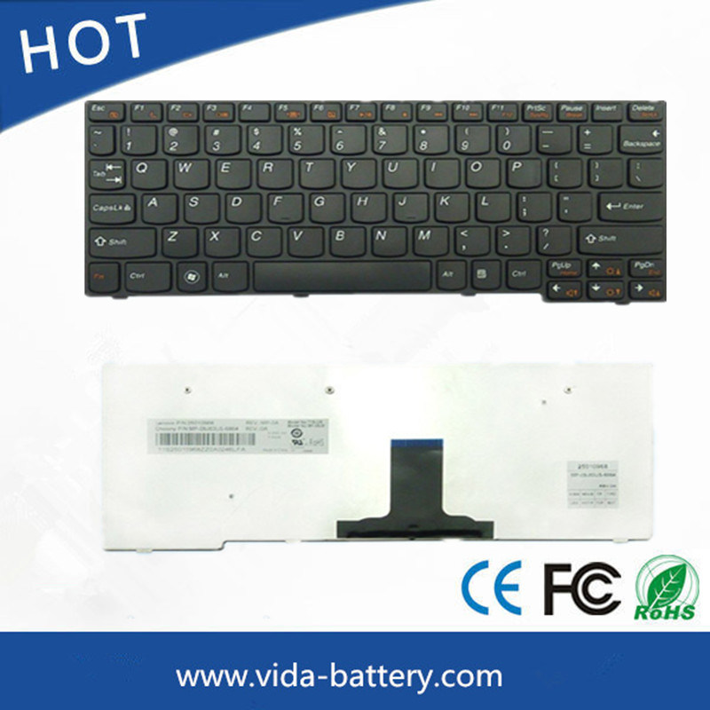 Original Laptop Notebook Keyboard for Lenovo S200 S100 S10-3 U160 M13 Black Us/UK/Ru/Sp/Br Keyboard