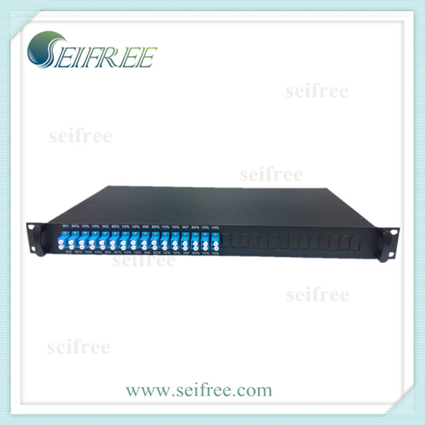 1X3 8in1 Rack Fiber Optic Coupler/Splitter (FTTX, CATV)