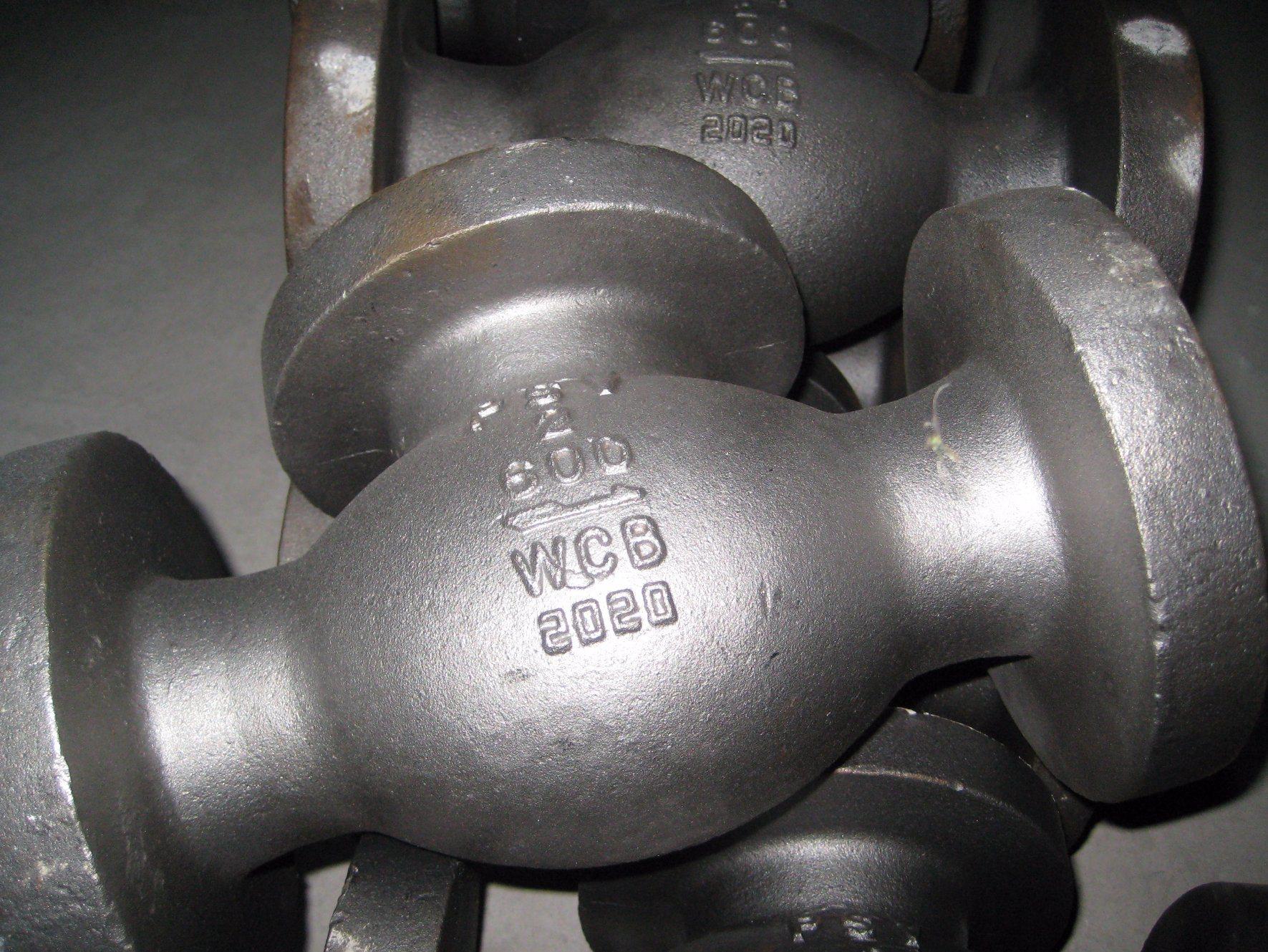 Check Valve Body Parts Body Bonnet Casting Carbon Steel Casting