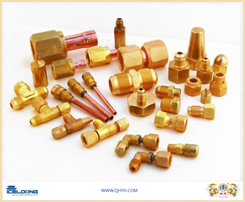 Brass Fitting for Air Condition and Refrigeration System