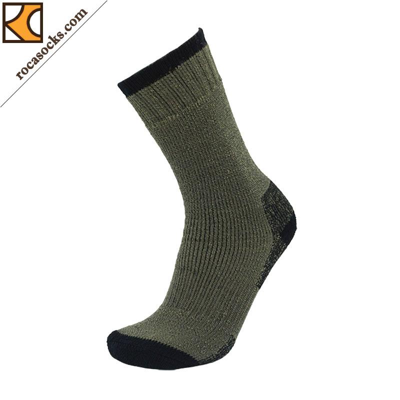 Men′s Merino Wool Outdoor Thermal Socks (162016SK)