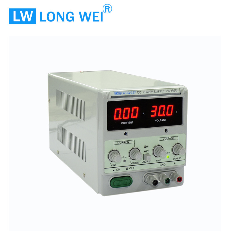 150W PS305D 0-30V 0-5A Laboratory Digital Display Adjustable Linear DC Power Supply