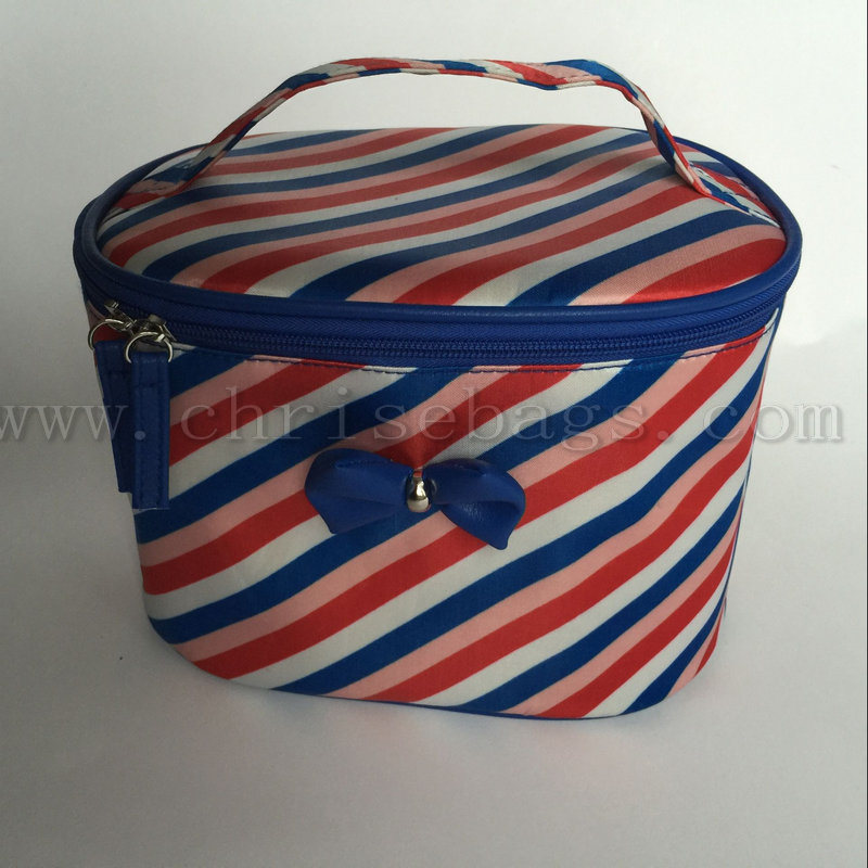 Polyester Large Capacity Cosmetic Bag