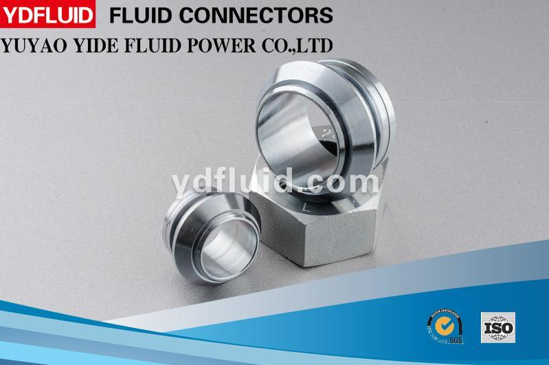 Customized Hydraulic and Pneumatic Flared Brass Fitting
