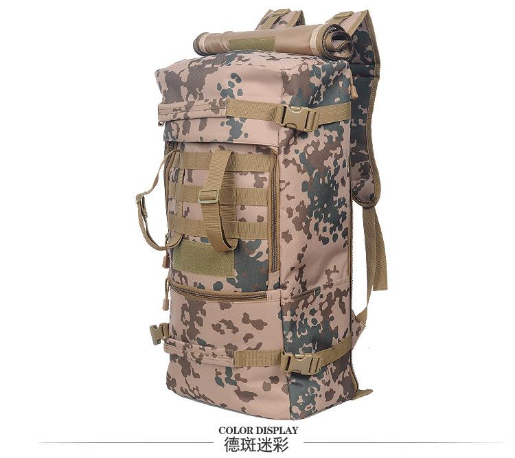 100llarge Capacity 1000d Nylon Tactical Military Hiking Backpack