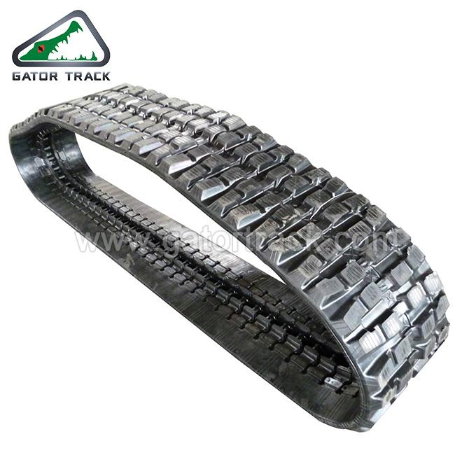 65r. 1A Jcb Ez50 Neuson B50-2b Vio75 400*72.5*74 Rubber Track Excavator Tracks