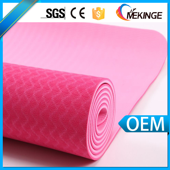 High Quality Custom Label TPE Yoga Mat/Gym Mat