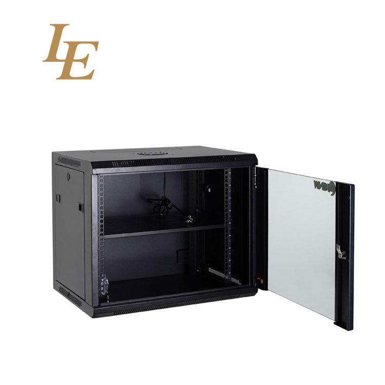 15u Enclosed Server Cabinet Locks