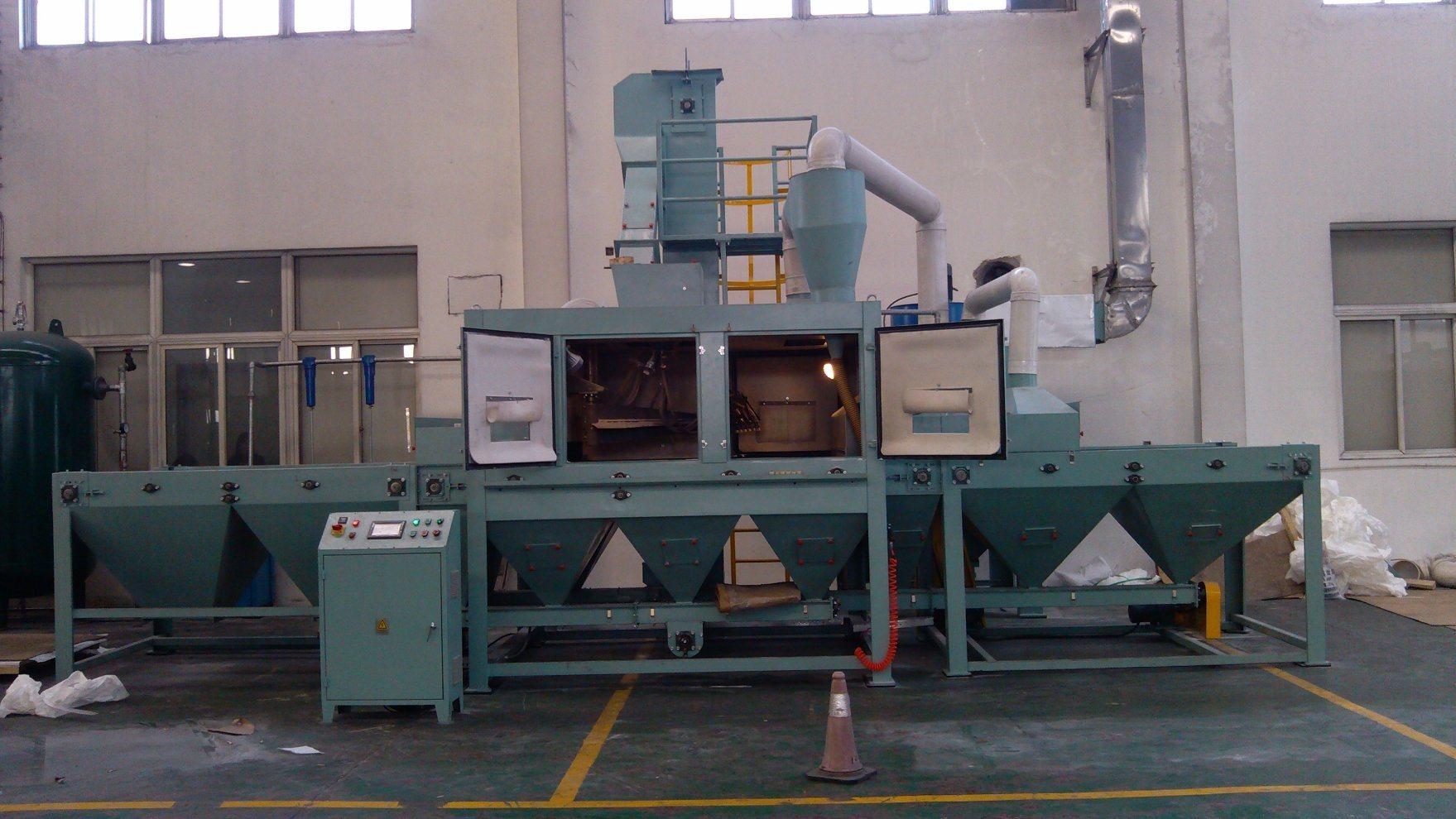 Sand Blasting Machine for Stainless Steel Sheet