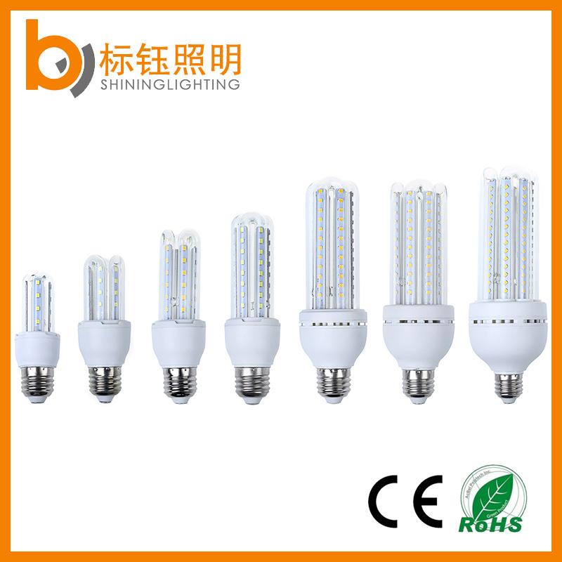 4u 24W E27 Bulb Lighting High Performance SMD2835 Chips U-Shape Corn Light LED Energy Saving Lamp