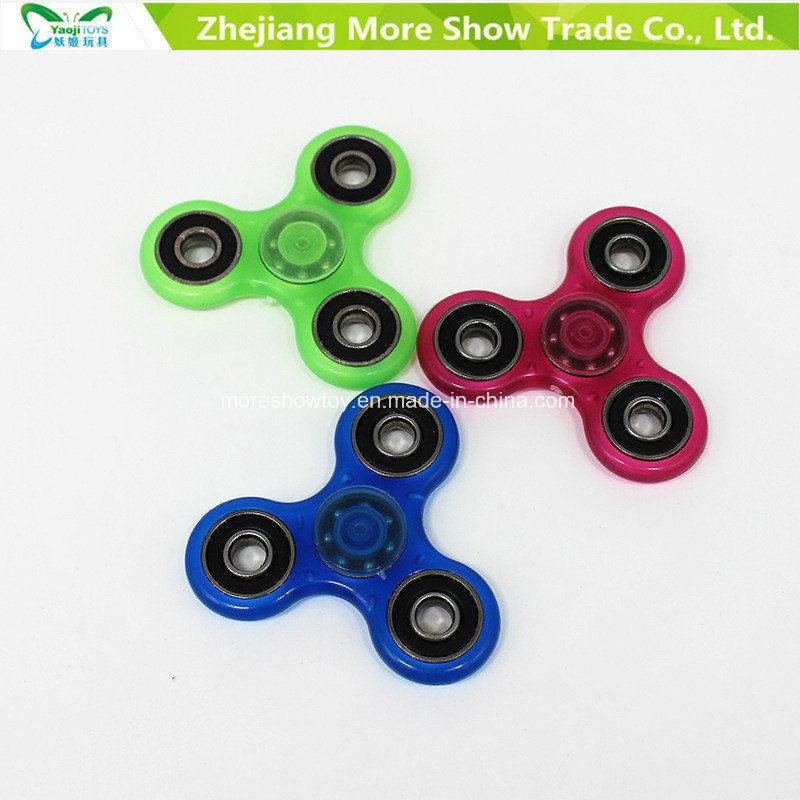 Hotsale Glow in Dark Fidget Hand Spinner Stress Relief Toys