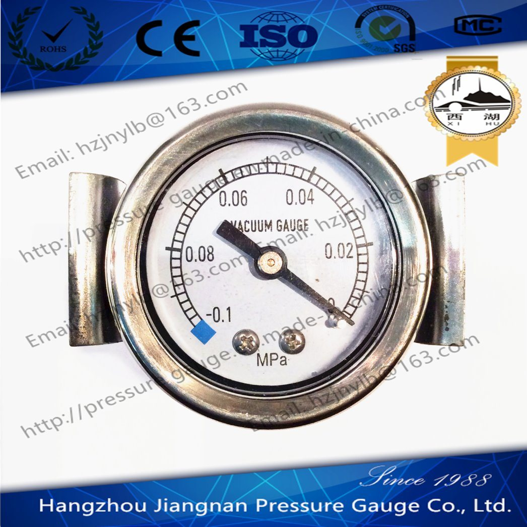 50mm 2′′ U Clamp Type Vacuum Pressure Gauge-General Pressure Gauge